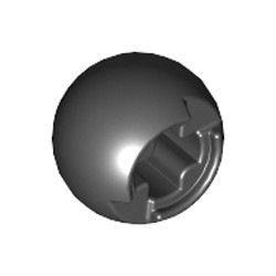 Black Technic, Ball Joint with Through Axle Hole - used