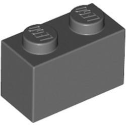 Dark Bluish Gray Brick 1 x 2 - new