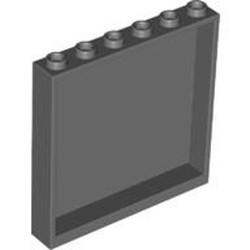 Dark Bluish Gray Panel 1 x 6 x 5 - used