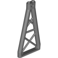 Dark Bluish Gray Support 1 x 6 x 10 Girder Triangular - used