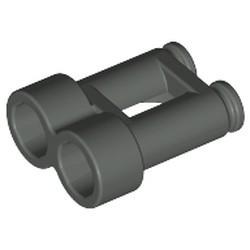 Dark Gray Minifigure, Utensil Binoculars Town