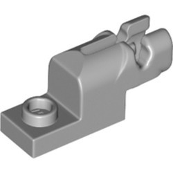 Light Bluish Gray Projectile Launcher, 1 x 2 Mini Blaster / Shooter - new