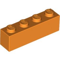 Orange Brick 1 x 4 - new