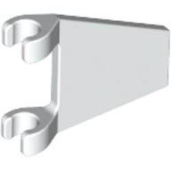 White Flag 2 x 2 Trapezoid - used