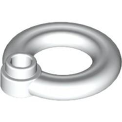 White Minifigure, Utensil Flotation Ring (Life Preserver) - used
