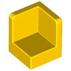 Yellow Panel 1 x 1 x 1 Corner - used