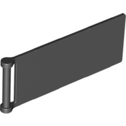 Black Flag 7 x 3 with Bar Handle