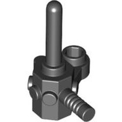 Black Minifigure, Utensil Space Scanner Tool - used
