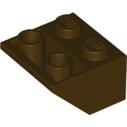 Dark Brown Slope, Inverted 45 2 x 2 - used