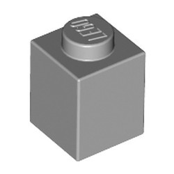 Light Bluish Gray Brick 1 x 1 - new