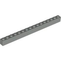 Light Gray Brick 1 x 16 - used