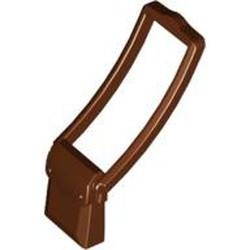 Reddish Brown Minifigure, Utensil Bag Messenger Pouch - used