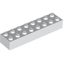White Brick 2 x 8 - new
