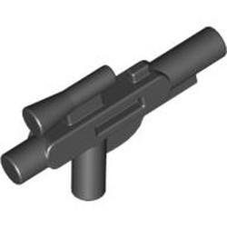 Black Minifigure, Weapon Gun, Blaster Short (SW) - used