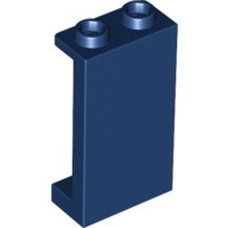 Dark Blue Panel 1 x 2 x 3 with Side Supports - Hollow Studs - new