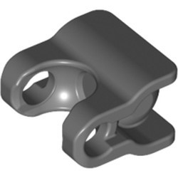 Dark Bluish Gray Hero Factory Arm / Leg Extender with Ball Joint and Ball Socket - new