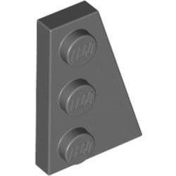 Dark Bluish Gray Wedge, Plate 3 x 2 Right - new