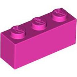 Dark Pink Brick 1 x 3 - used