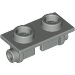 Light Gray Hinge Brick 1 x 2 Top - used