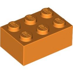 Orange Brick 2 x 3 - used