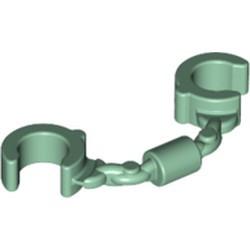 Sand Green Minifigure, Utensil Handcuffs - new