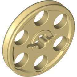 Tan Technic Wedge Belt Wheel (Pulley) - used