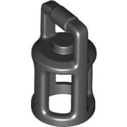 Black Minifigure, Utensil Lantern - new