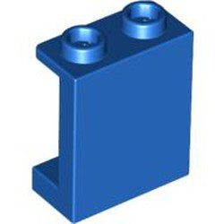 Blue Panel 1 x 2 x 2 with Side Supports - Hollow Studs - used