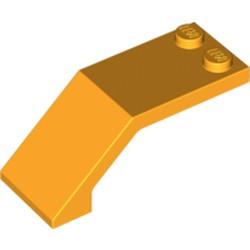 Bright Light Orange Windscreen 5 x 2 x 1 2/3 - used