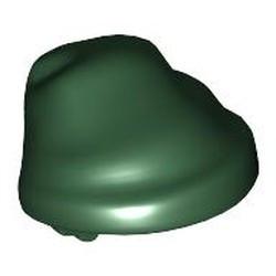Dark Green Minifigure, Headgear Hat, Cloth Wrap / Bandana