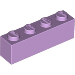 Lavender Brick 1 x 4 - used