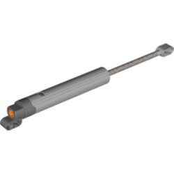 Light Bluish Gray Technic, Linear Actuator Long with Dark Bluish Gray Ends - new