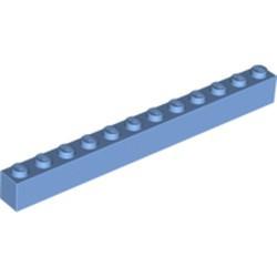 Medium Blue Brick 1 x 12 - used