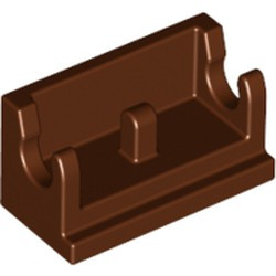 Reddish Brown Hinge Brick 1 x 2 Base - new