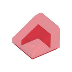 Trans-Red Slope 30 1 x 1 x 2/3 - new