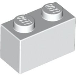 White Brick 1 x 2 - used