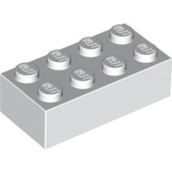 White Brick 2 x 4 - used