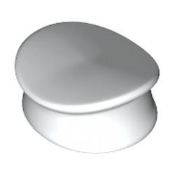White Minifigure, Headgear Hat, Police