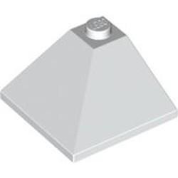 White Slope 33 3 x 3 Double Convex Corner - used