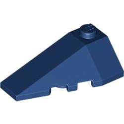 Dark Blue Wedge 4 x 2 Triple Left - used