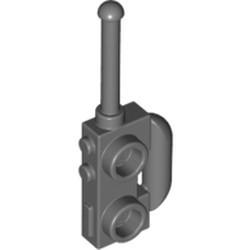 Dark Bluish Gray Minifigure, Utensil Radio with Extended Handle - used