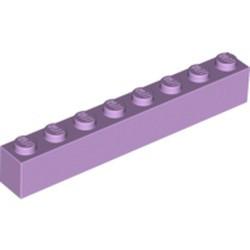 Lavender Brick 1 x 8 - used