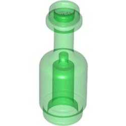 Trans-Green Minifigure, Utensil Bottle - new