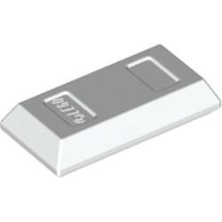 White Minifigure, Utensil Ingot / Bar - new
