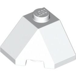 White Wedge 2 x 2 (Slope 45 Corner) - new