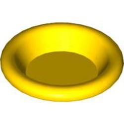 Yellow Minifigure, Utensil Dish 3 x 3 - new