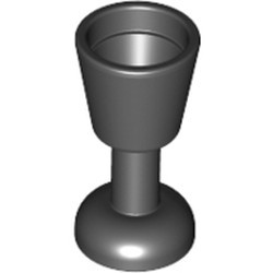 Black Minifigure, Utensil Goblet - used