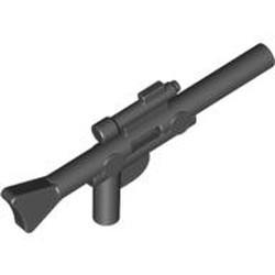 Black Minifigure, Weapon Gun, Blaster Long (SW) - new