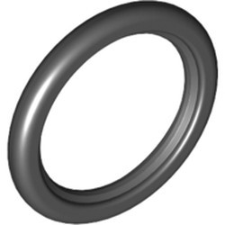 Black Tire Technic Wedge Belt Wheel - used