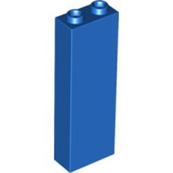 Blue Brick 1 x 2 x 5 - Blocked Open Studs or Hollow Studs - new